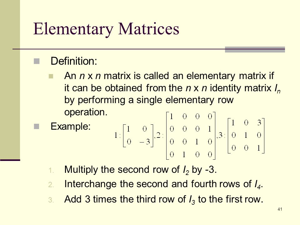 Ppt Video Online Download Matrices - Free Proxy