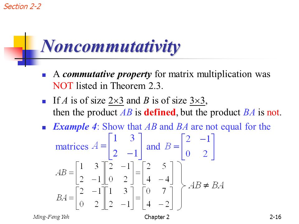 Chap  2 Matrices 2 1 Operations with Matrices - ppt video