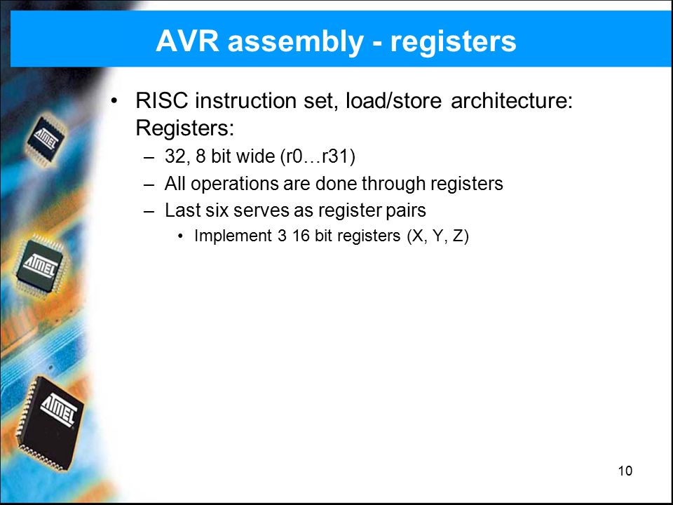 AVR ATmega128 microcontroller - ppt video online download