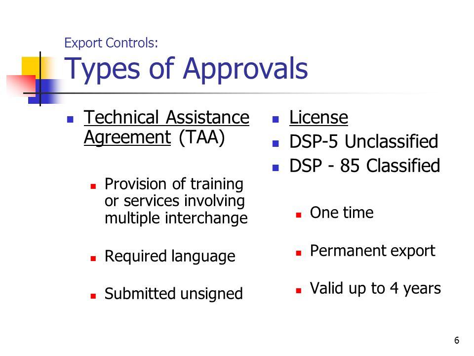 Export Controls General Overview Ppt Video Online Download