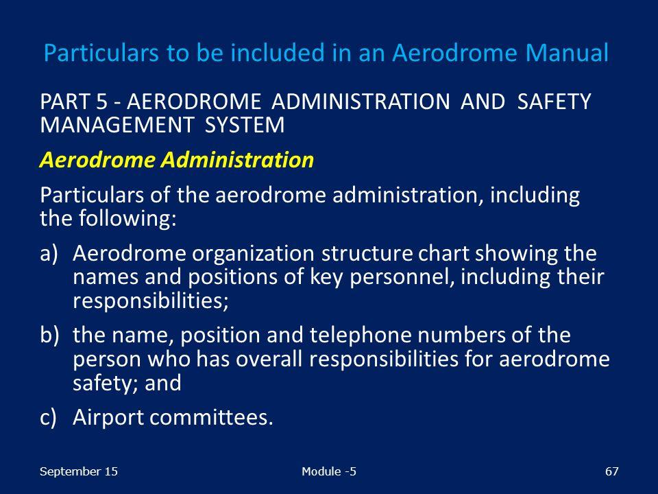 preparation and maintenance of aerodrome manual module ppt download rh slideplayer com