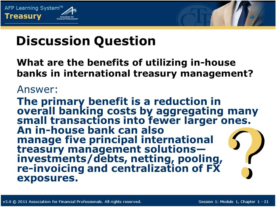 AFP Learning System Treasury - ppt download