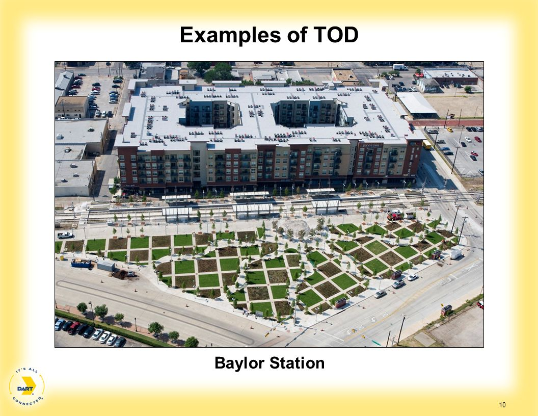 Examples of TOD Baylor Station