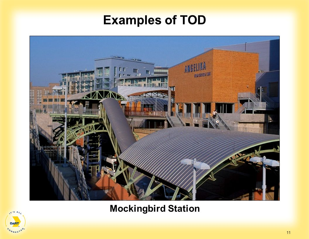 Examples of TOD Mockingbird Station