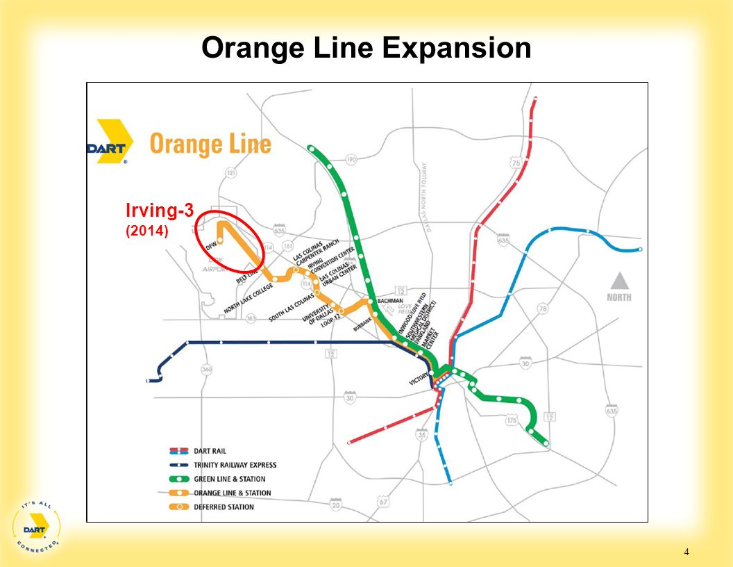 Orange Line Expansion Irving-3 (2014)