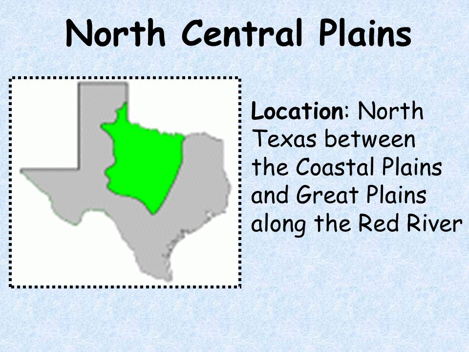 Central Plains Of Texas Natural Resources