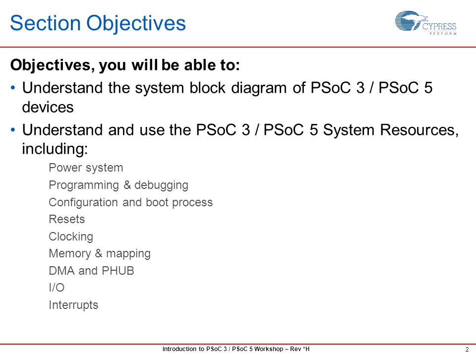 psoc 3 psoc 5 102 system resources ppt download Rope Pulley Diagram 2 section objectives objectives, you will be able to understand the system block diagram of psoc 3