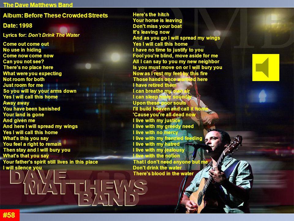 Lyric dave matthews lyrics : Manifest Destiny #1. - ppt download