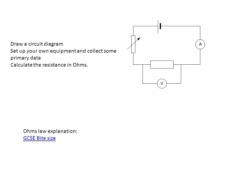 Drawing Circuit Diagrams Gcse - DIY Enthusiasts Wiring Diagrams •