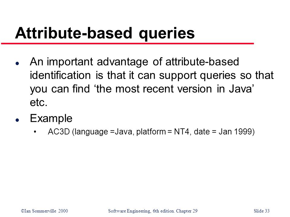 Attribute-based queries