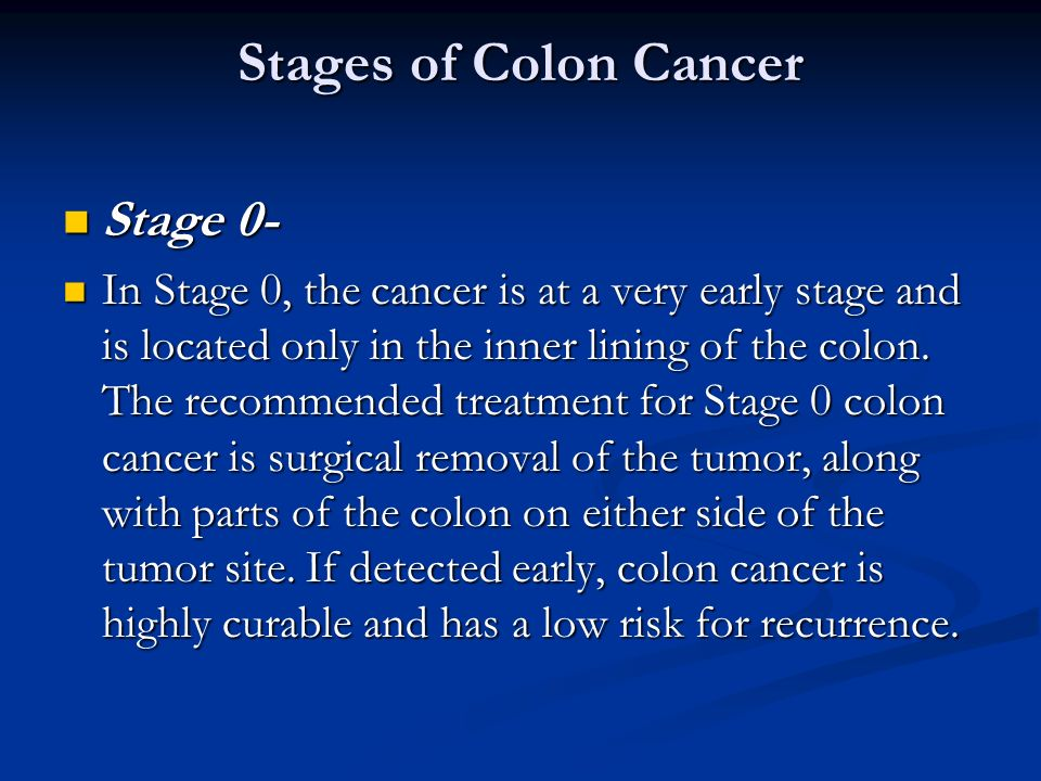 Colon Cancer First Page Ppt Video Online Download