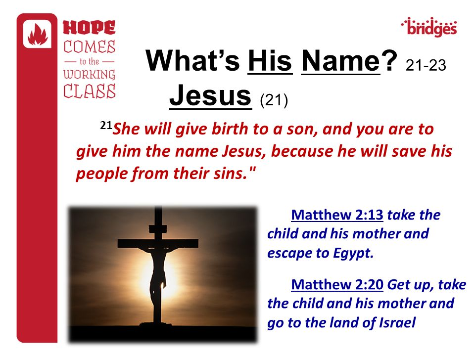 What's His Name Jesus (21)