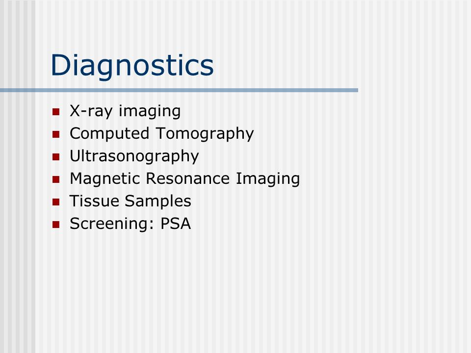 Diagnostics X-ray imaging Computed Tomography Ultrasonography