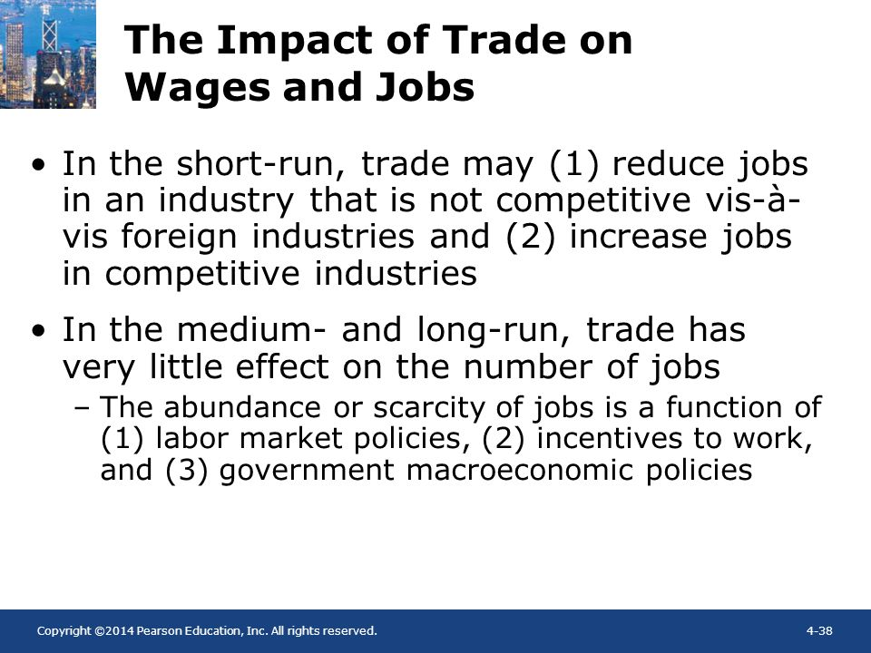 The Impact of Trade on Wages and Jobs