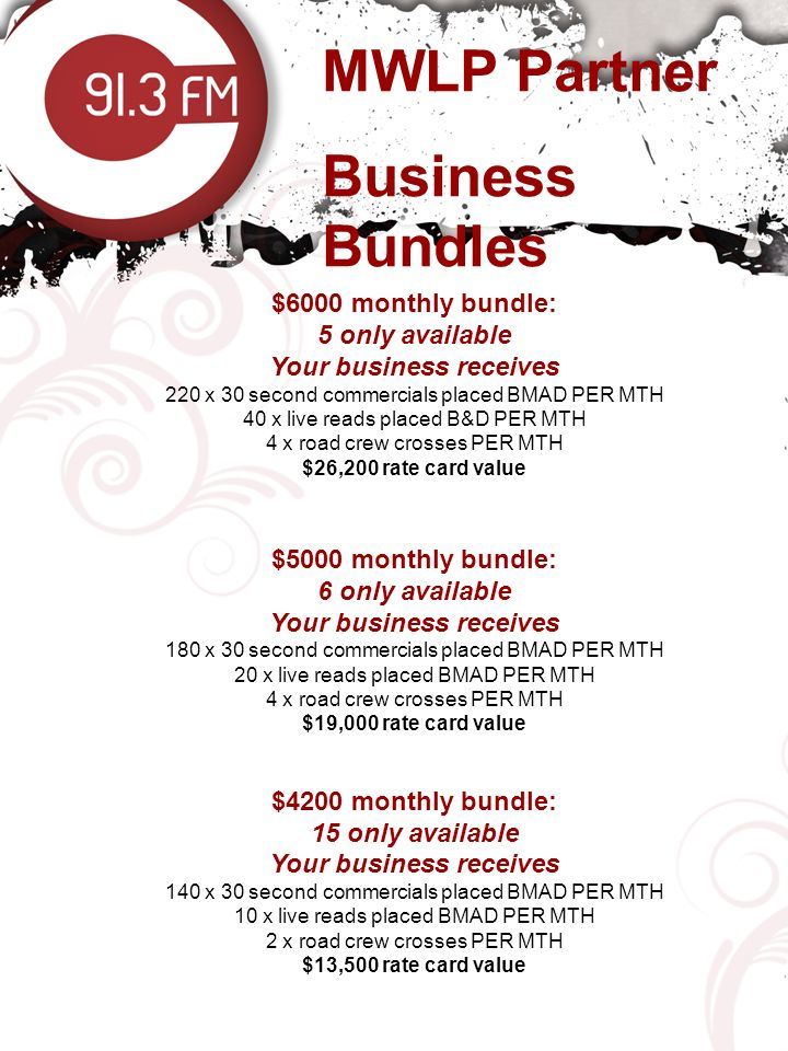 Your business receives