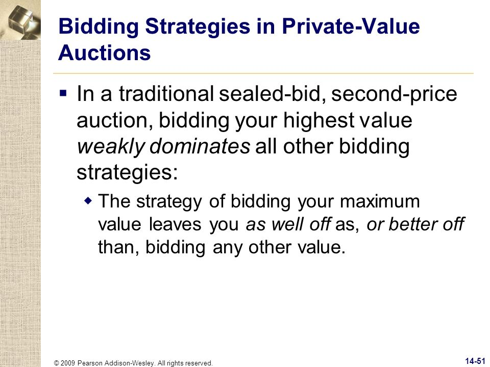 Bidding Strategies in Private-Value Auctions