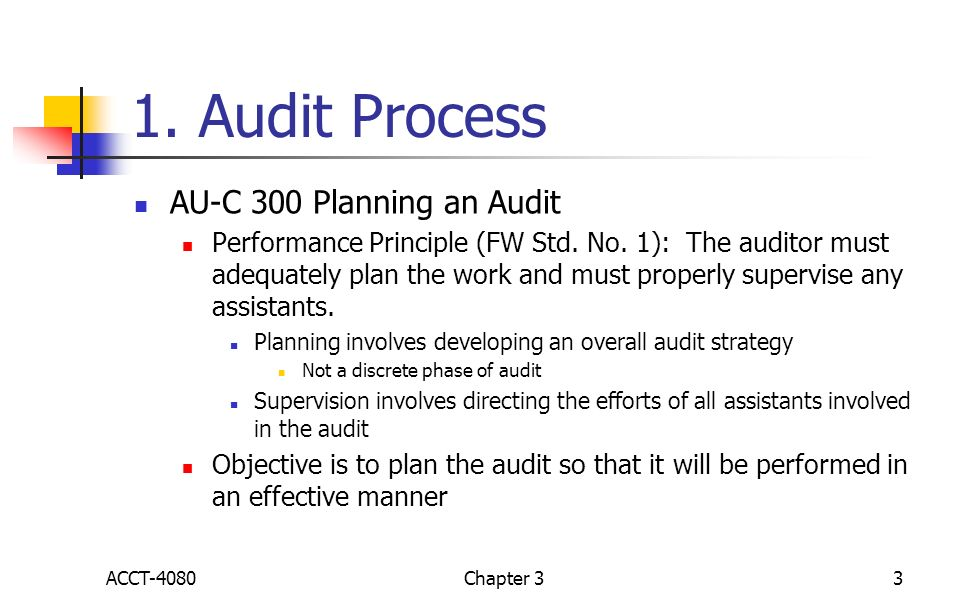 Chapter 3 Engagement Planning ACCT-4080 Chapter ppt video online