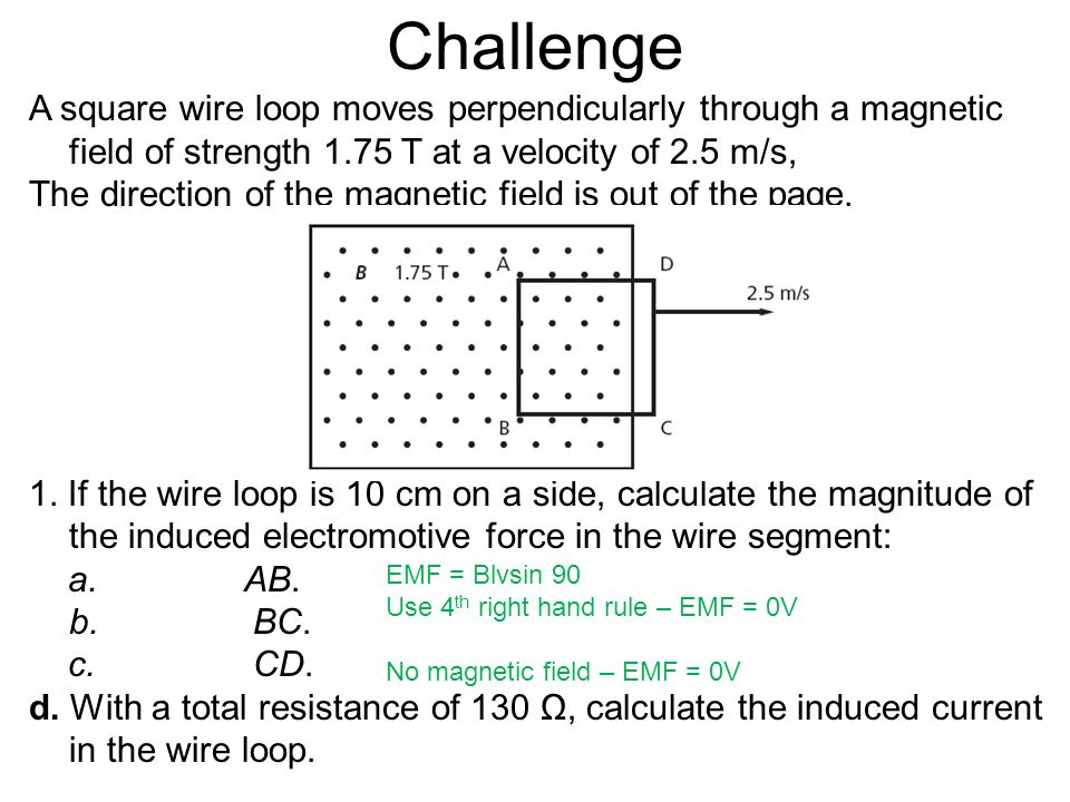 Resistance of wire magnet wire center electromagnetic induction ppt download rh slideplayer com magnet wire gauge chart copper wire coils and magnets keyboard keysfo Images