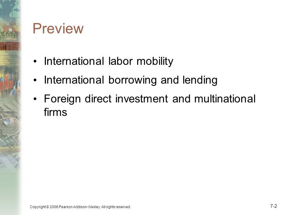 Preview International labor mobility