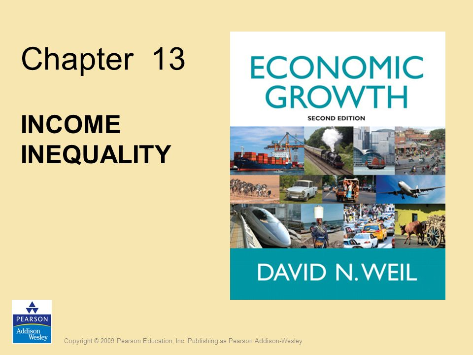 Chapter 13 INCOME INEQUALITY