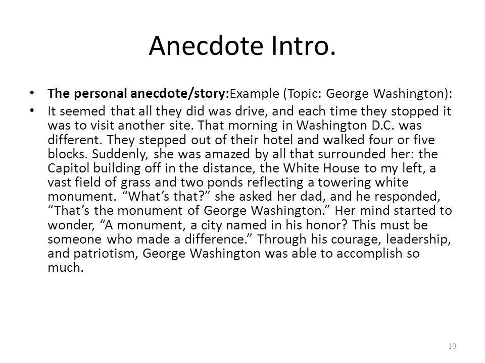 Example Of Anecdote Essay Under Bergdorfbib Co