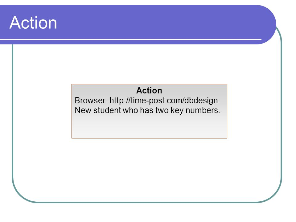 Action Action Browser: http://time-post.com/dbdesign