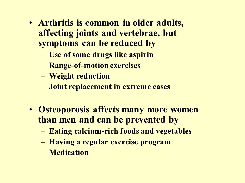 Osteoporosis affects many more women than men and can be prevented by