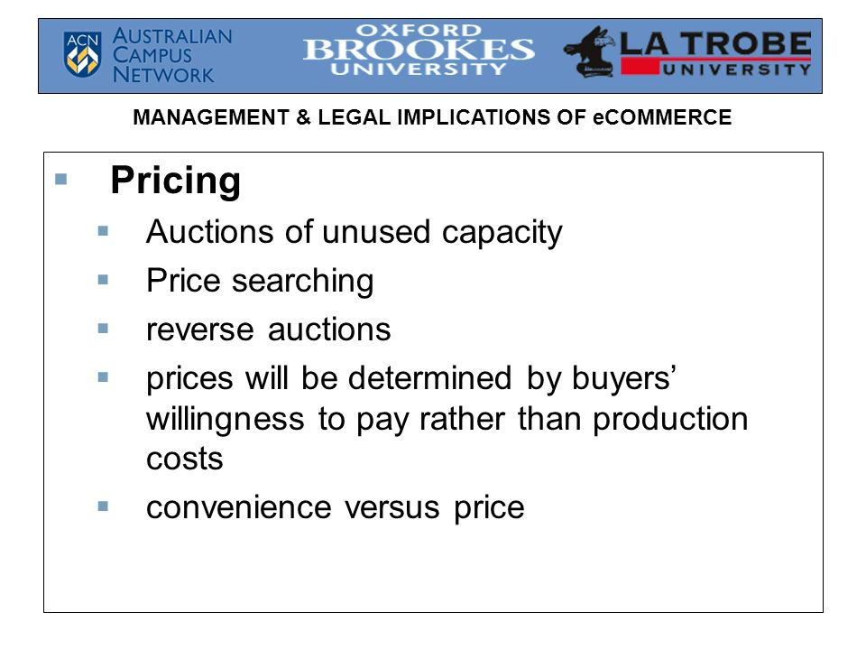 Pricing Auctions of unused capacity Price searching reverse auctions