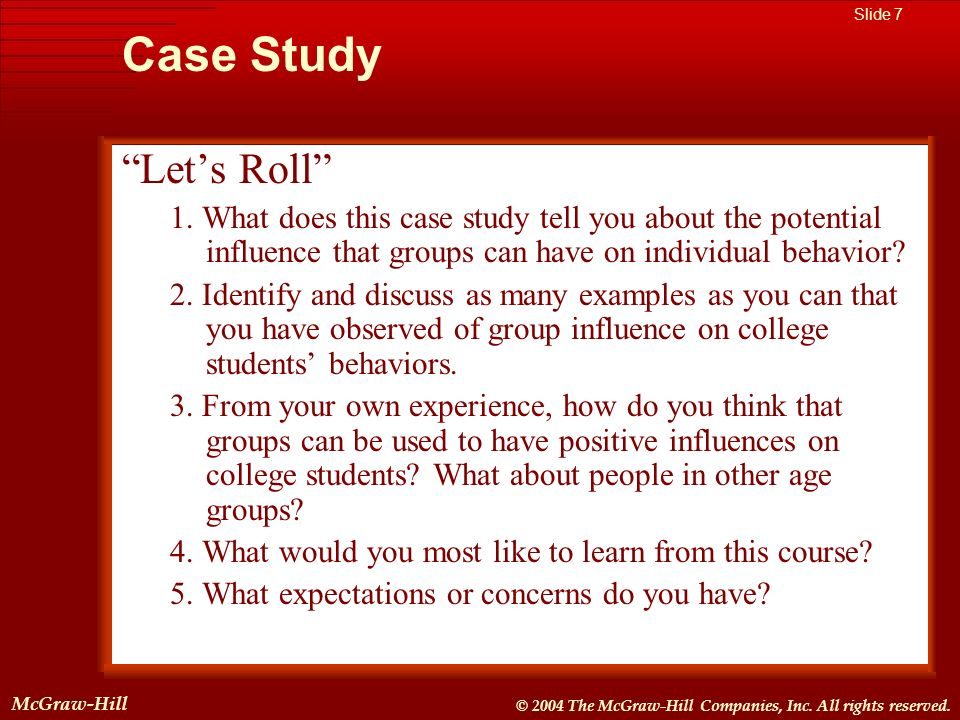Case Study Let's Roll