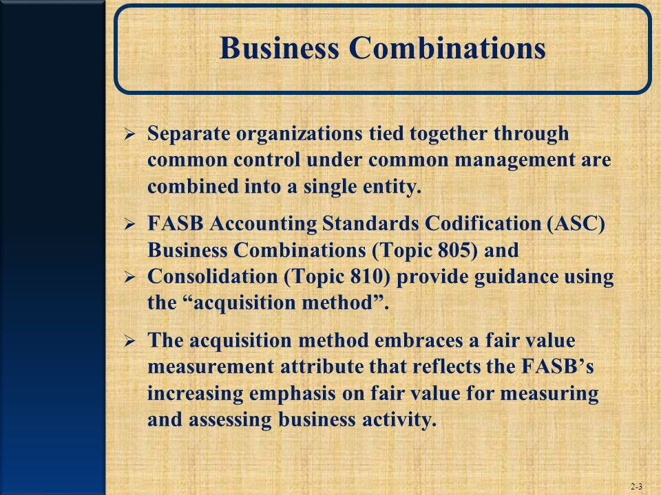 Consolidation of Financial Information - ppt video online