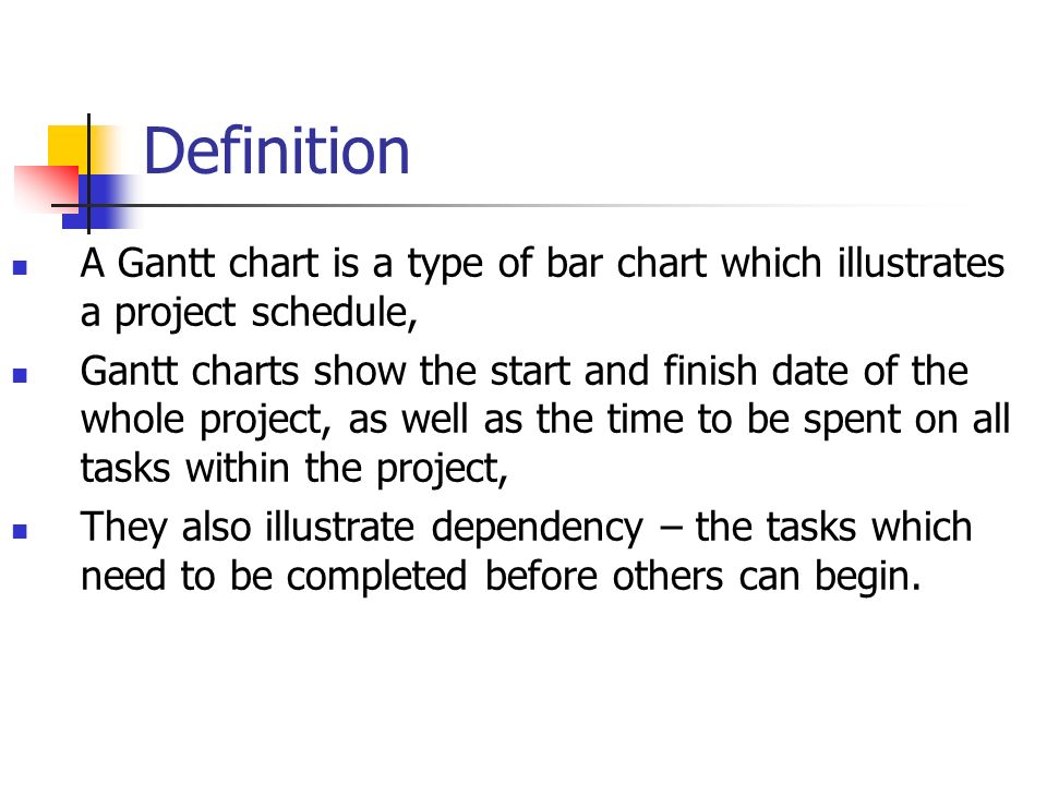 G048 Lecture 04 Drawing Gantt Charts Ppt Video Online Download