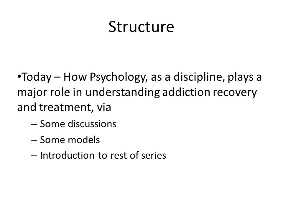 psychological theories of addiction