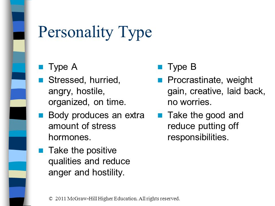 Personality Type Type A