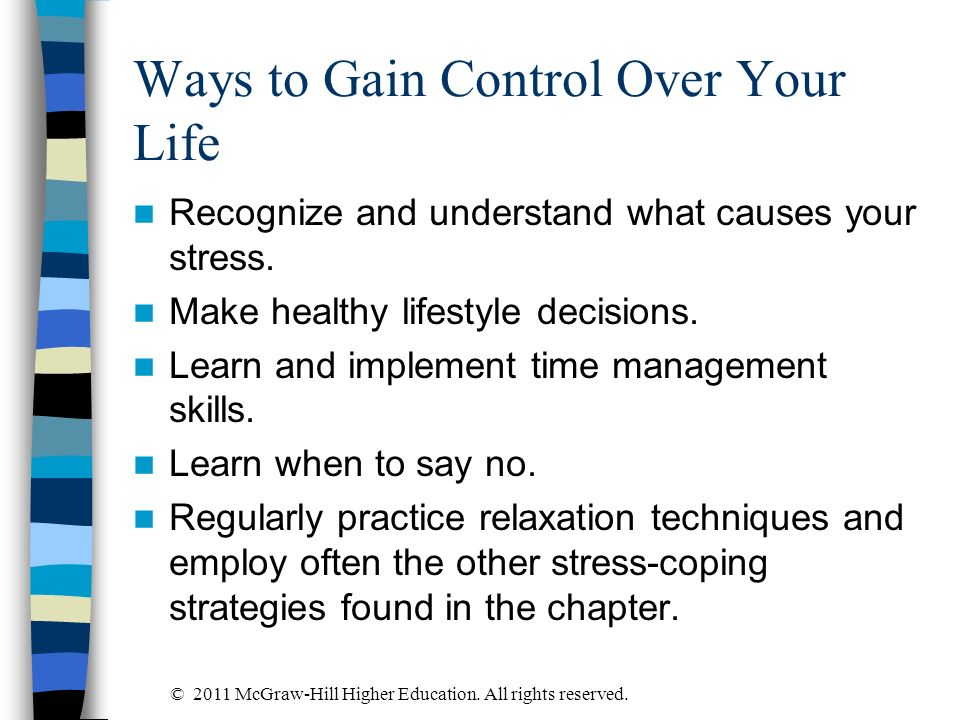 Ways to Gain Control Over Your Life
