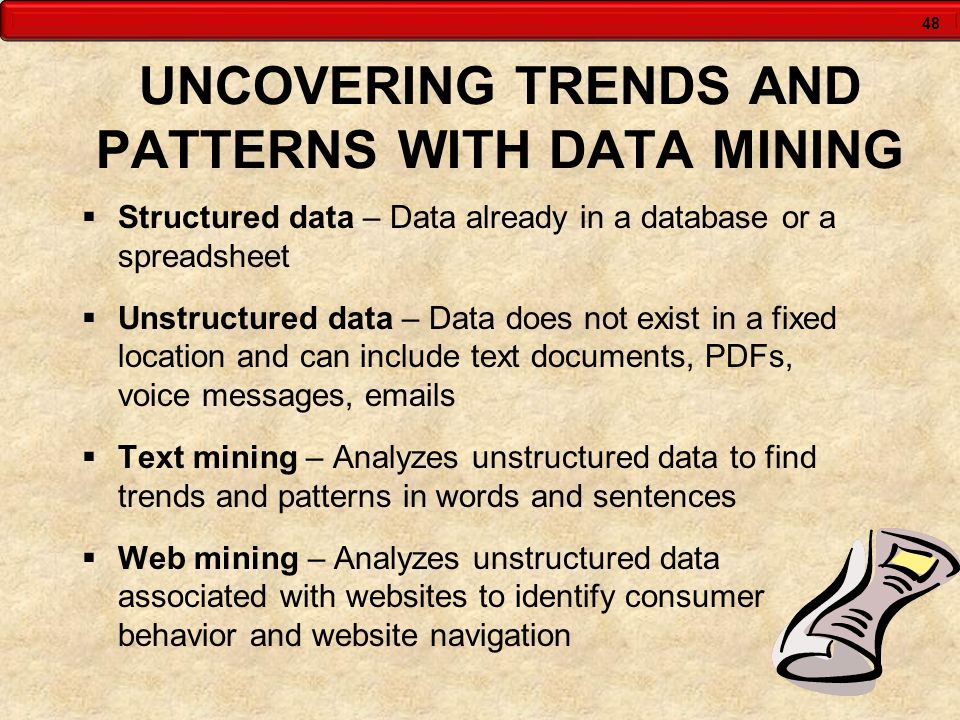 UNCOVERING TRENDS AND PATTERNS WITH DATA MINING