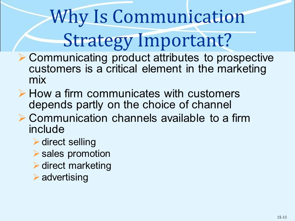 Why Is Communication Strategy Important