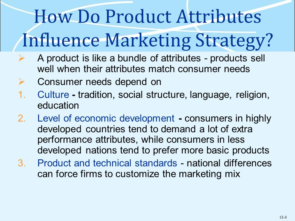 How Do Product Attributes Influence Marketing Strategy