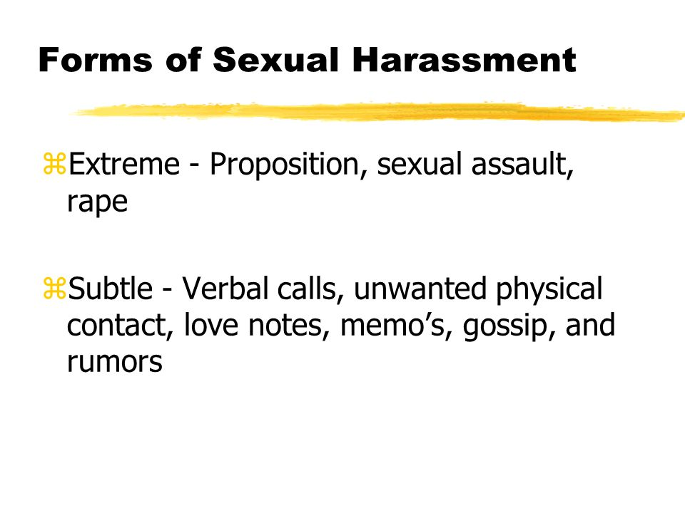 Sexual propositions meaning