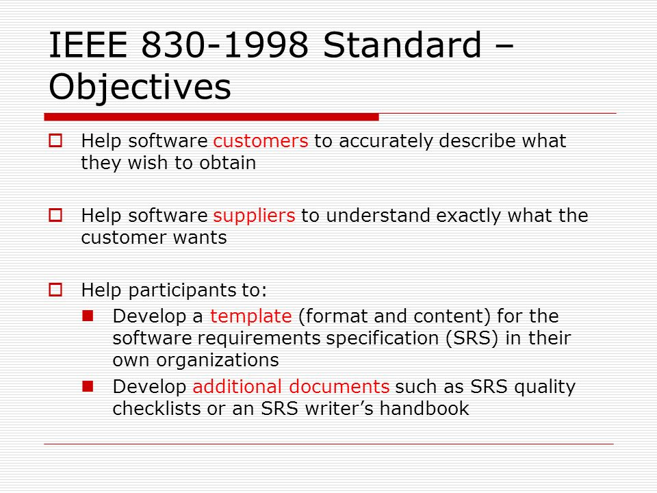 Amazing Ieee Standard Srs Template Composition - Resume Ideas ...