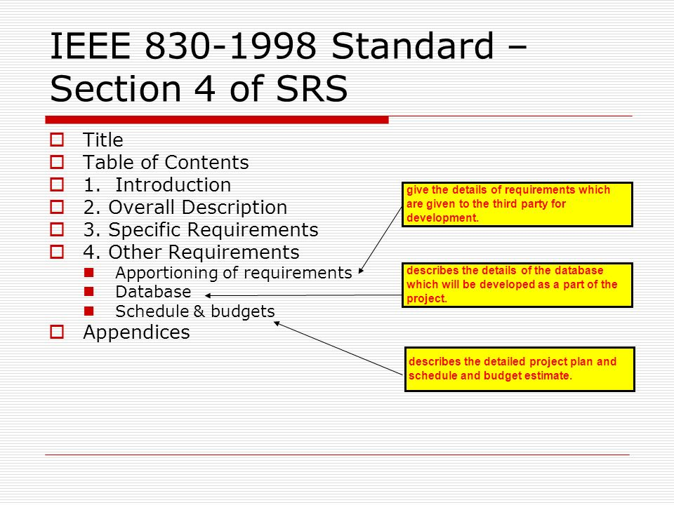 UNIT-II Chapter : Software Requirement Specification(SRS) - ppt download