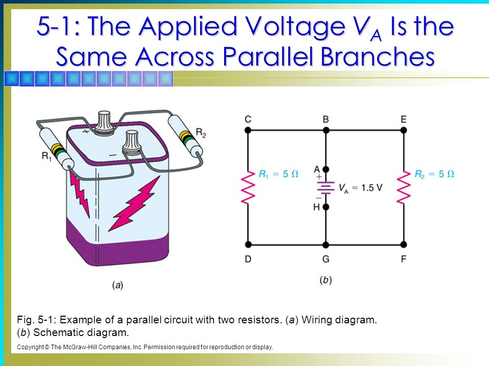 5 Parallel Circuits Chapter Topics Covered in Chapter 5 - ppt video ...