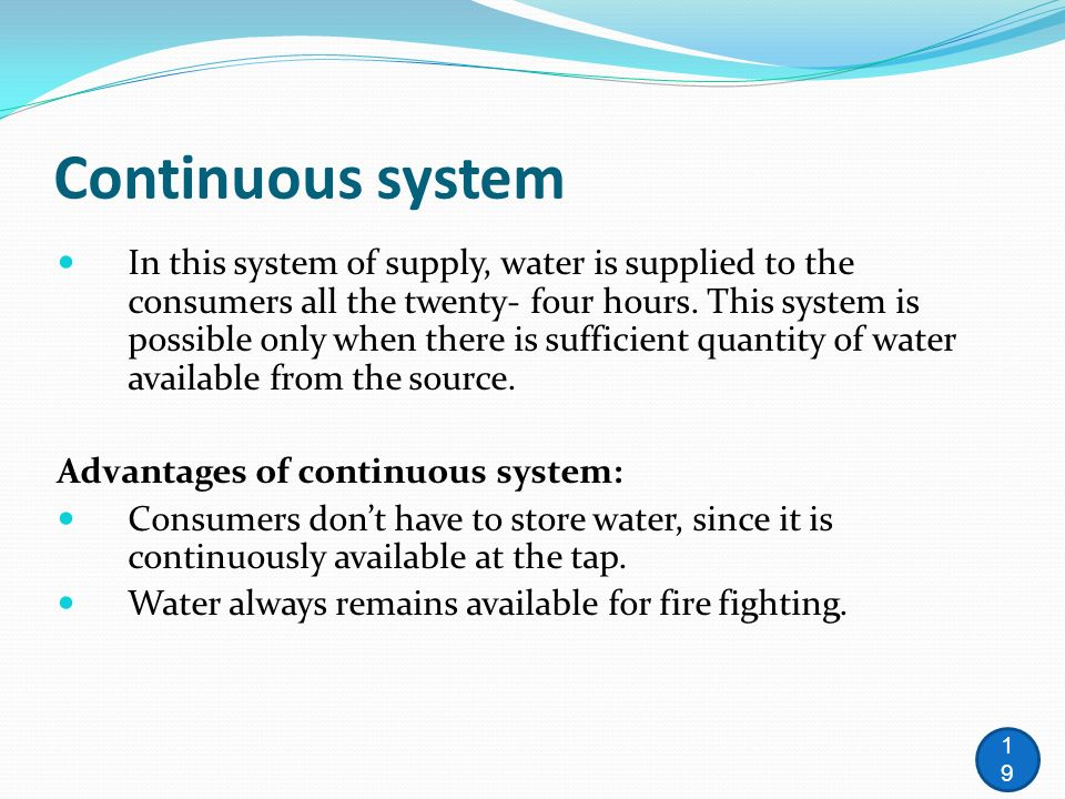 Lecture 1 Water Distribution Systems Ppt Download