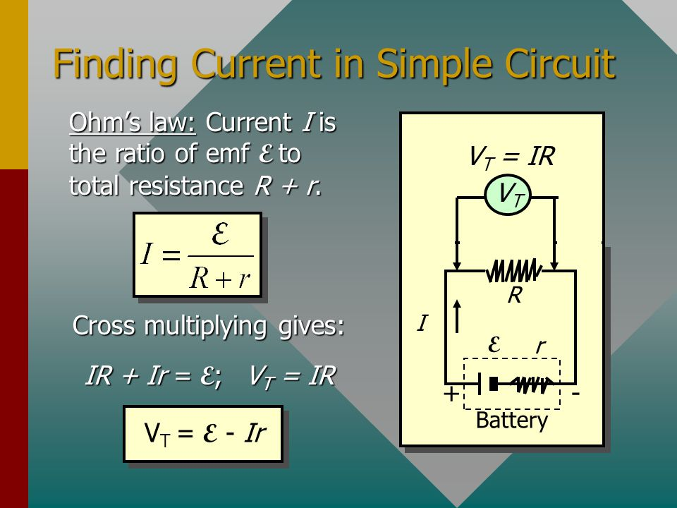 Finding Current in Simple Circuit
