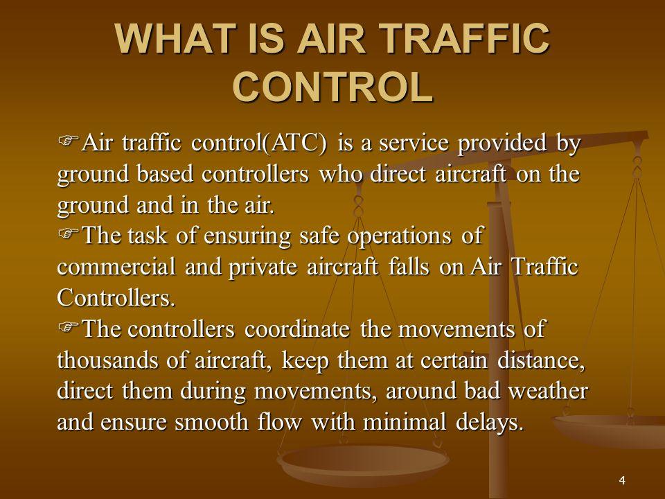 AIR TRAFFIC CONTROL Presented by S SUMESWAR PATRO Regd no