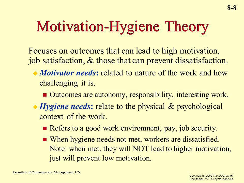 Motivation-Hygiene Theory