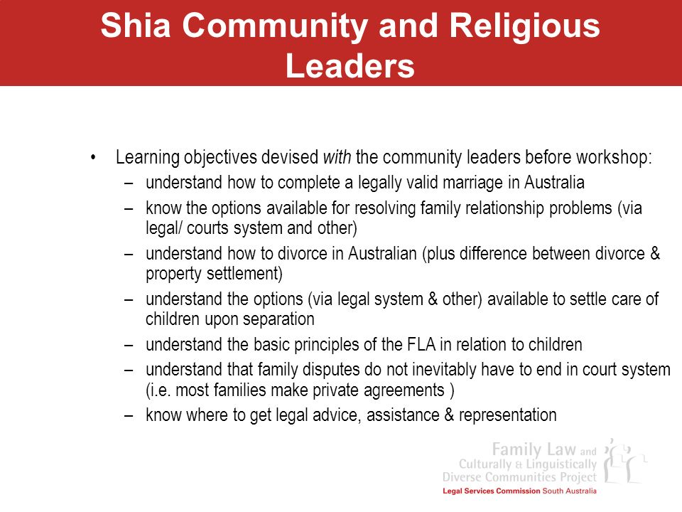 Shia Community and Religious Leaders