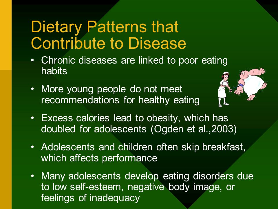 Dietary Patterns that Contribute to Disease