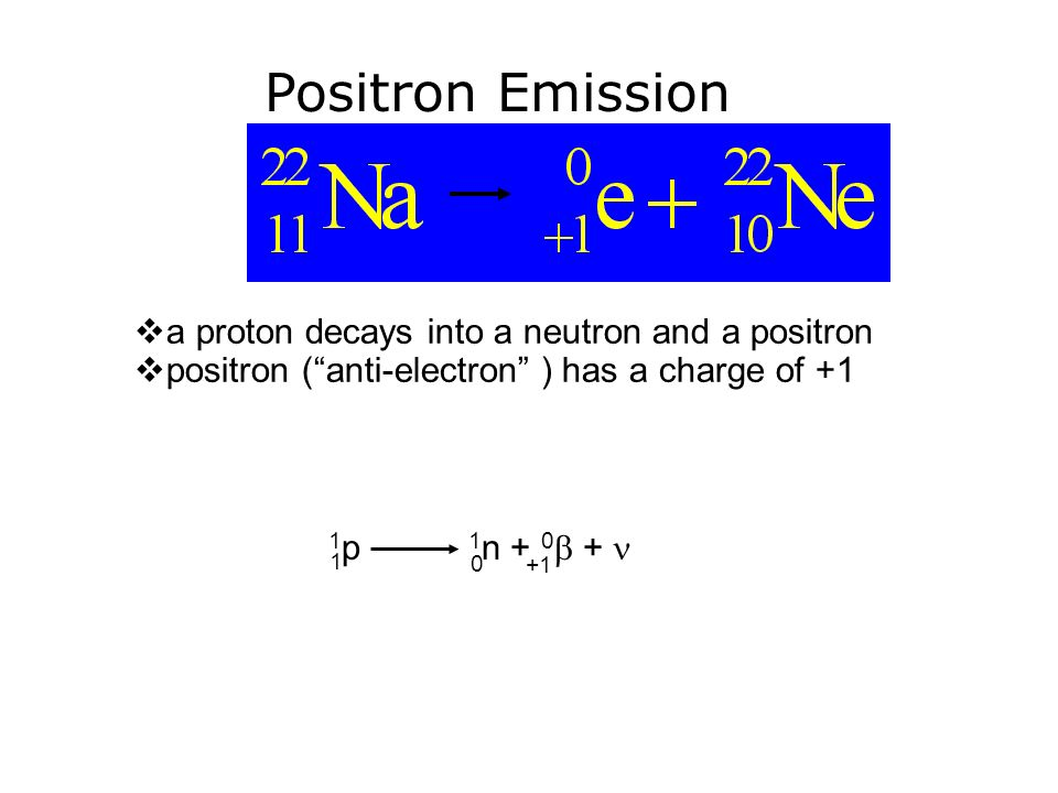 Positron+Emission+a+proton+decays+into+a