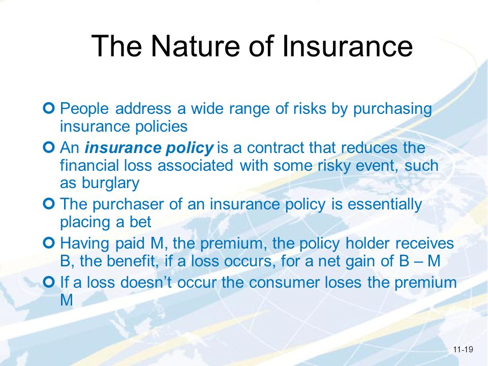The Nature of Insurance