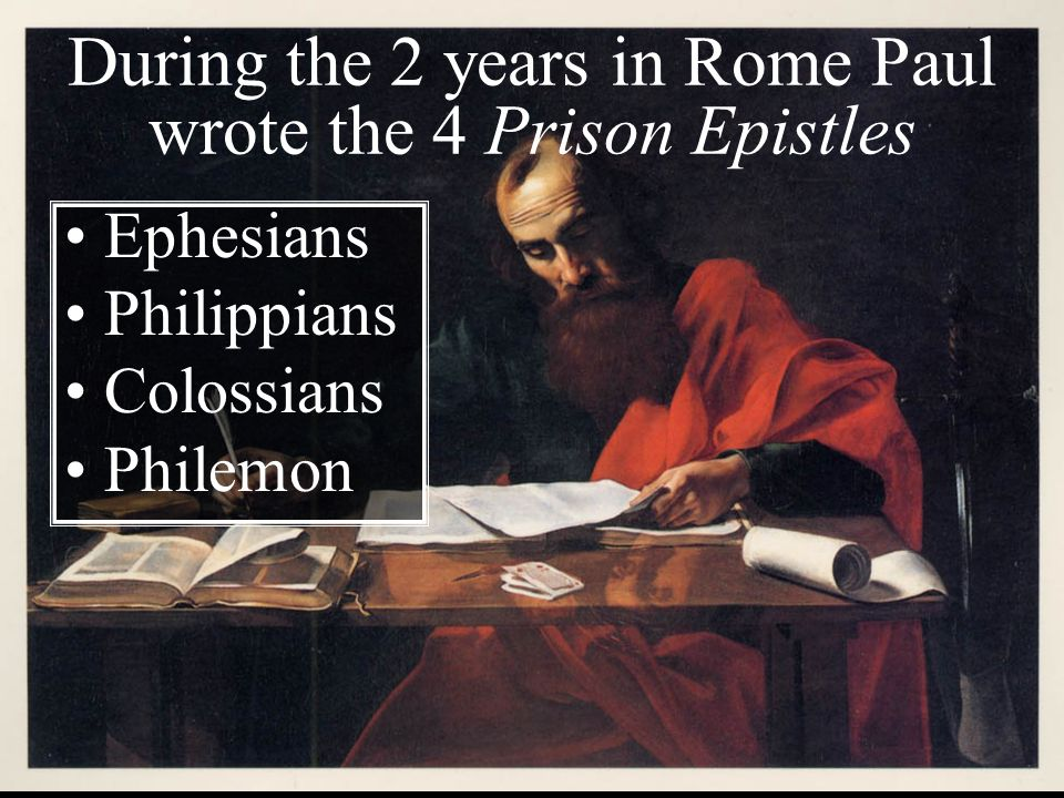 paul s prison letters acts 28 arrival in rome ppt 23918